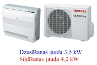 Toshiba sienas - grīdas konsole 3.5kw