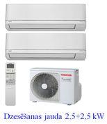 TOSHIBA Shorai RAS-cold 2,5+2,5kW