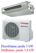 Toshiba kanāltipa kondicionētājs RAS-M16G3DV-E