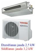 Toshiba kanāltipa kondicionētājs RAS-M10G3DV-E
