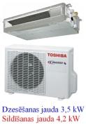 Toshiba kanāltipa kondicionētājs RAS-M13G3DV-E
