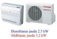 Toshiba sienas - grīdas konsole 2,5kW