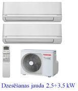 TOSHIBA Shorai RAS-cold 2,5+3,5kW